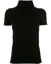 Jersey de Cuello Alto de Punto Negro de Twin-Set