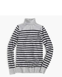 Jersey de cuello alto de rayas horizontales original 2567880