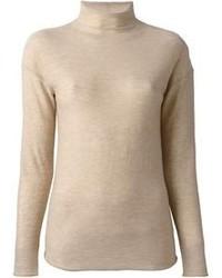 Jersey de cuello alto en beige de Joseph