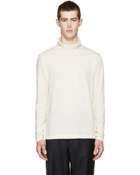 Jersey de cuello alto en beige de Paul Smith