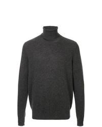 Jersey de cuello alto en gris oscuro de Chalayan