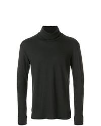 Jersey de cuello alto en marrón oscuro de The Viridi-anne