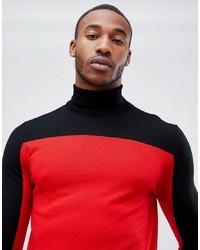 Jersey de cuello alto en multicolor de Hugo