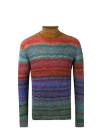 Jersey de cuello alto en multicolor de Missoni