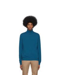 Jersey de cuello alto en verde azulado de Ps By Paul Smith