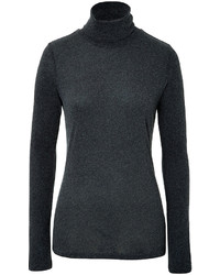 Jersey de cuello alto gris oscuro original 2566671