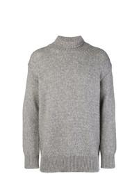 Jersey de cuello alto gris de Dondup