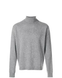 Jersey de cuello alto gris de Golden Goose Deluxe Brand
