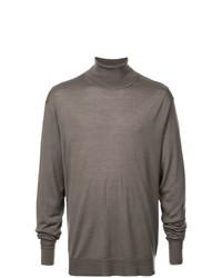 Jersey de cuello alto gris de Neil Barrett