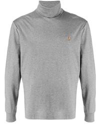 Jersey de cuello alto gris de Polo Ralph Lauren