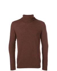 Jersey de cuello alto marrón de Circolo 1901