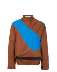 Jersey de cuello alto marrón de Kiko Kostadinov