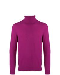 Jersey de cuello alto morado de Laneus