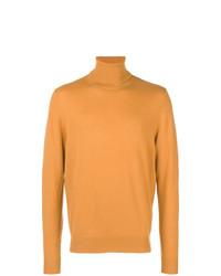 Jersey de cuello alto naranja de Chalayan