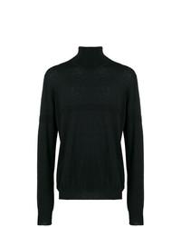Jersey de cuello alto negro de Golden Goose Deluxe Brand
