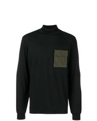 Jersey de cuello alto negro de Oamc