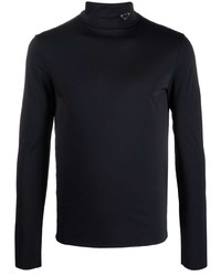 Jersey de cuello alto negro de Prada