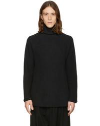 Jersey de cuello alto negro de SASQUATCHfabrix.