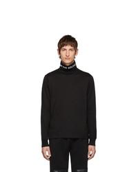 Jersey de cuello alto negro de TAKAHIROMIYASHITA TheSoloist.