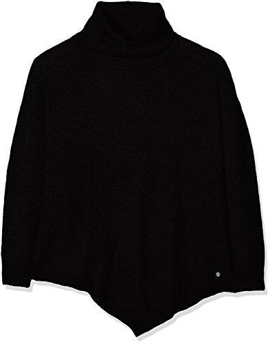 Jersey de cuello alto negro de Tom Tailor