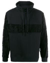 Jersey de cuello alto negro de VERSACE JEANS COUTURE