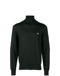 Jersey de cuello alto negro de Vivienne Westwood