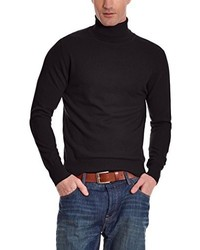 Jersey de cuello alto negro de William De Faye