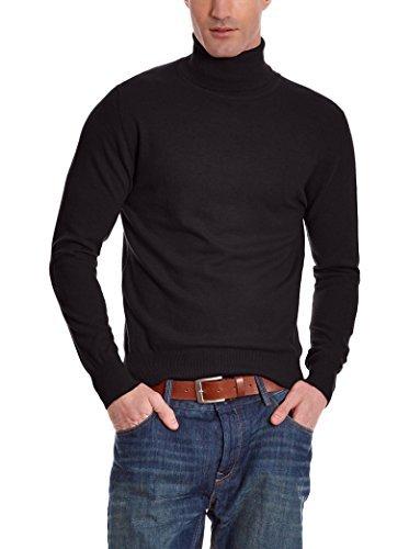 Jersey de cuello alto negro de William De Faye