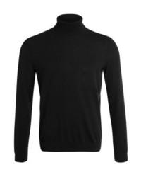 Jersey de Cuello Alto Negro de Zalando Essentials