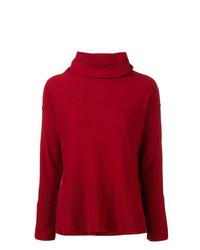 Jersey de cuello alto rojo de Antonelli
