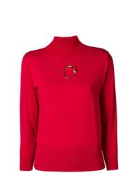 Jersey de cuello alto rojo de Cavalli Class