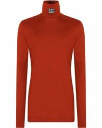Jersey de cuello alto rojo de Dolce & Gabbana
