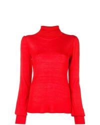 Jersey de cuello alto rojo de Goat