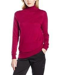 Jersey de cuello alto rojo de Havren
