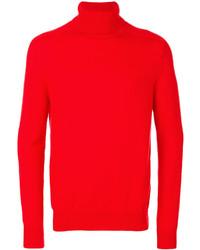 Jersey de cuello alto rojo de Iris von Arnim