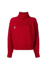 Jersey de cuello alto rojo de Isabel Marant Etoile