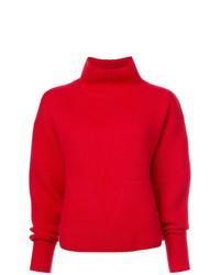 Jersey de cuello alto rojo de Le Kasha