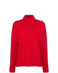 Jersey de cuello alto rojo de Opportuno