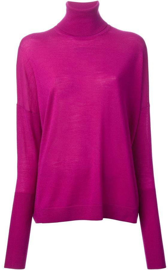 Jersey de cuello alto rosa de Acne Studios  dónde comprar y cómo ... b3c380205e97