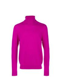 Jersey de cuello alto rosa de Chalayan