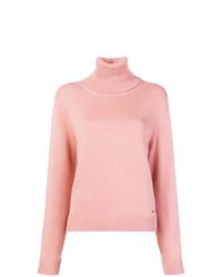 Jersey de cuello alto rosado de Dsquared2