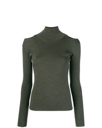 Jersey de cuello alto verde oliva de Ports 1961