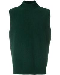 Jersey de cuello alto verde oscuro de Marni