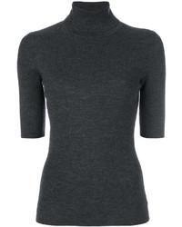 Jersey de lana en gris oscuro de Theory