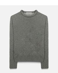 Jersey de lana gris de Christopher Kane