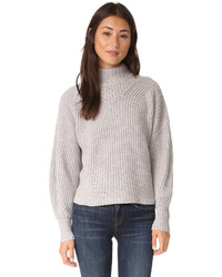 Jersey de lana gris de Rebecca Minkoff
