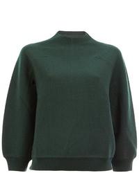 Jersey de lana verde oscuro de Marni