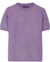 Jersey de lana violeta claro de Sibling