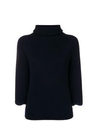 Jersey de manga corta azul marino de RED Valentino