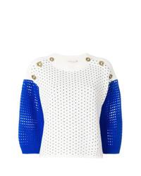 Jersey de manga corta blanco de Agnona